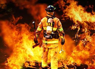 Poemas cortos al bombero
