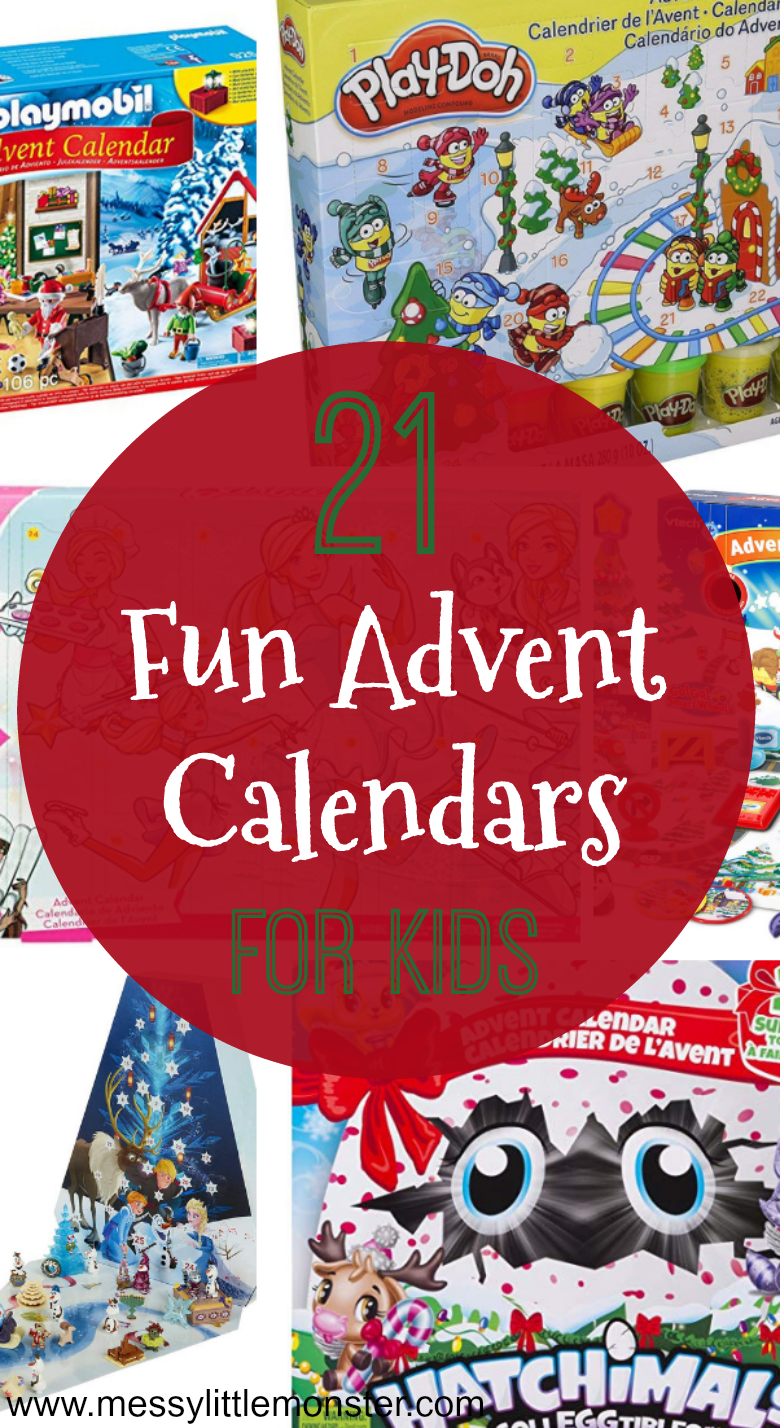 Kids advent calendars. A fun way to countdown to Christmas
