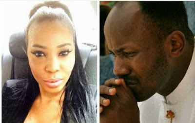Nigerians Fail to Believe Apostle Suleman on S*x Scandal with Stephanie