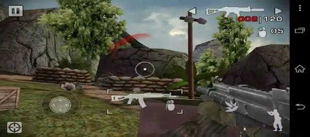 طريقة تشغيل لعبة battlefield للاندرويد