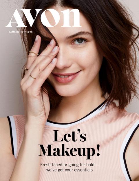 avon catalog 17 2019 let's makeup sale flyer