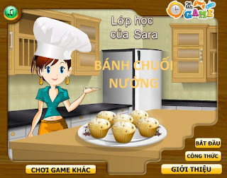Game thú vị bánh nướng chuối tây