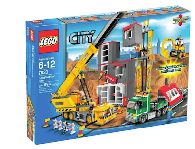 """Lego City Construction Set"" fun with Legos"