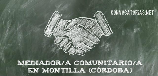 Convocatoria de una plaza para mediador/a comunitario/a en el Ayto. de Montilla (Córdoba)