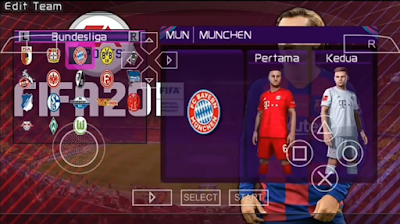 Texture FIFA 20 PPSSPP Full Transfers 2020