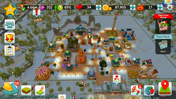 Roller Coaster Tycoon Touch - Year of Clean Water