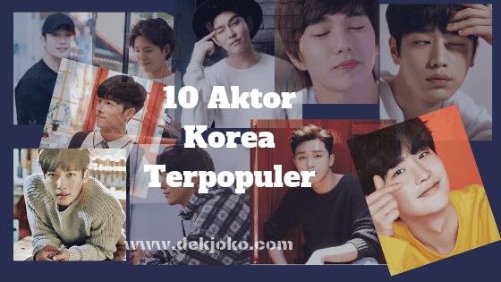 aktor tampan korea terpopuler