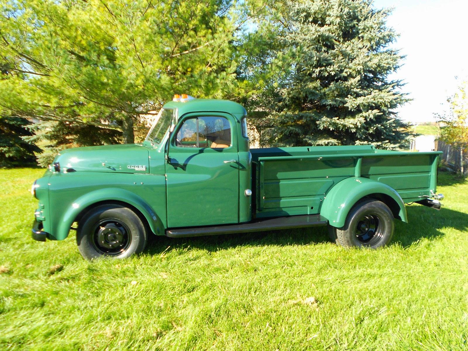 Rare, 1951 Dodge B-Series Dually Pickup Truck | Auto ...