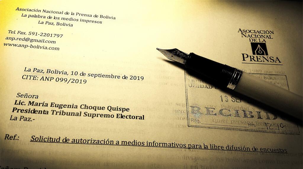 LA ANP rechaza la censura a medios por la última encuesta vetada por el TSE / ANP