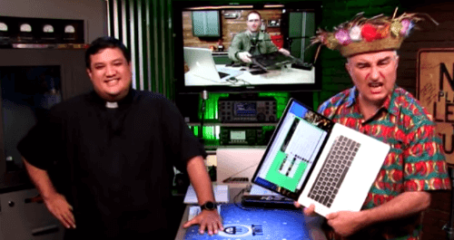 Fr. Robert Ballecer And Leo Laporte