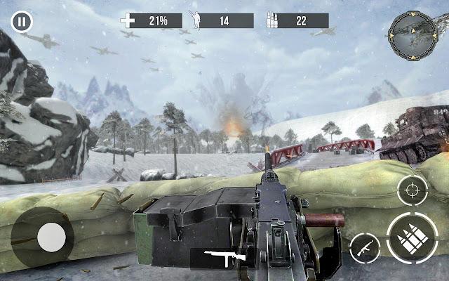 تحميل لعبة الحرب العالمية الثانية Call of Sniper WW2 مهكرة