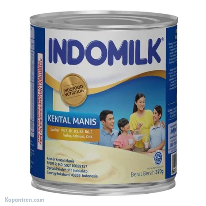 Indomilk Kental Manis Kaleng 370gr