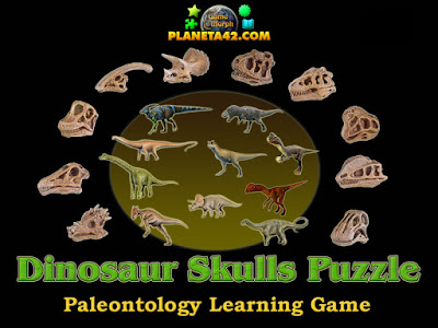 Dinosaur Skulls Puzzle
