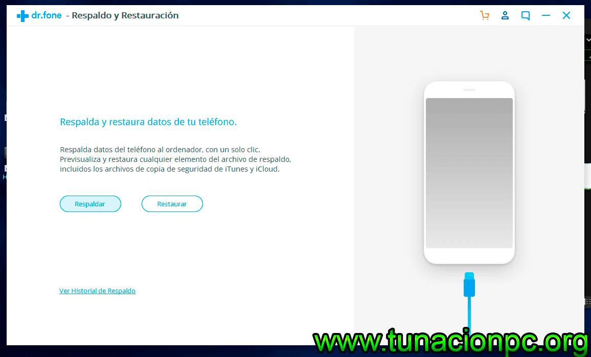 Wondershare Dr Fone Toolkit for iOS Full Español Gratis