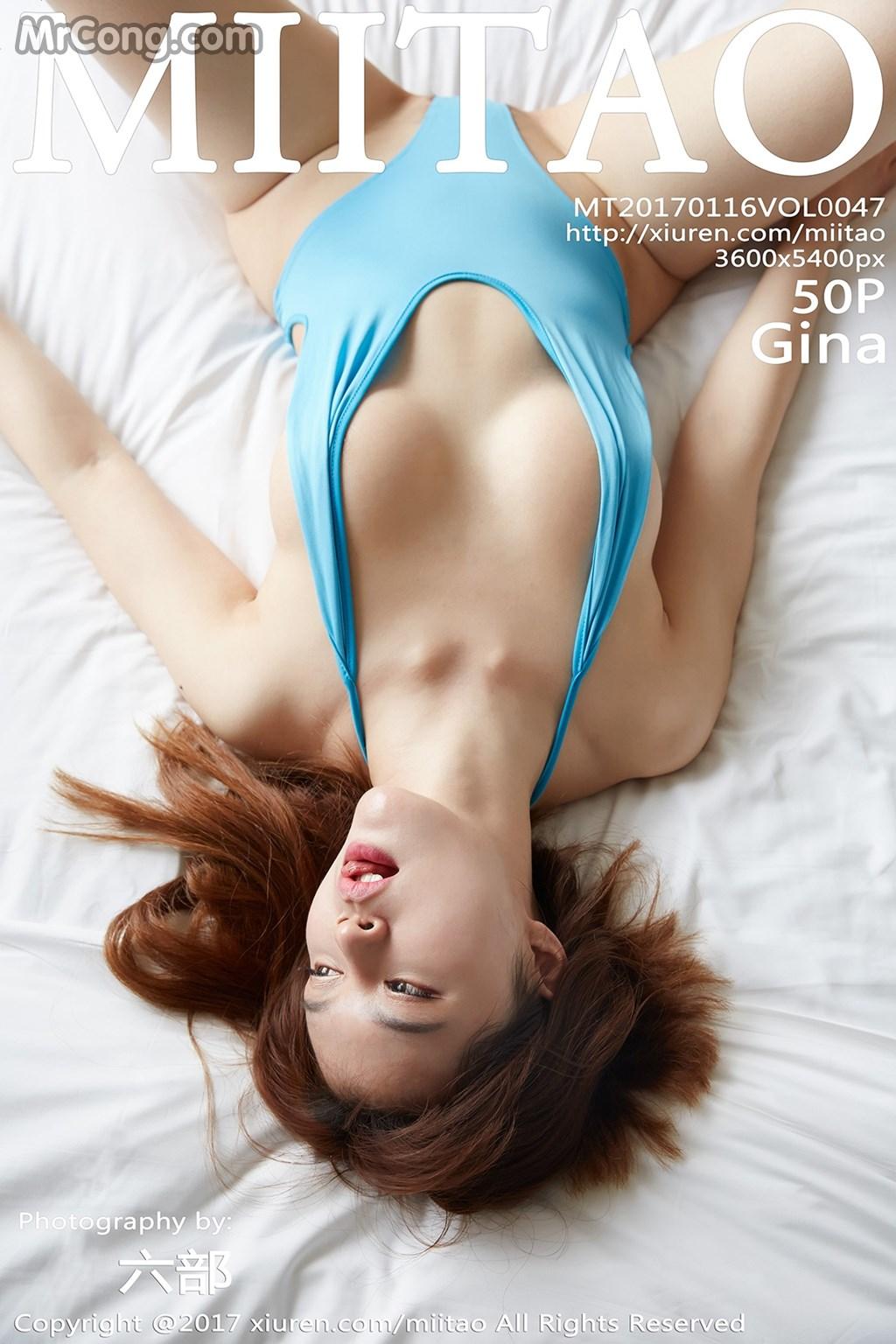 MiiTao Vol.047: Người mẫu Gina (51 ảnh)