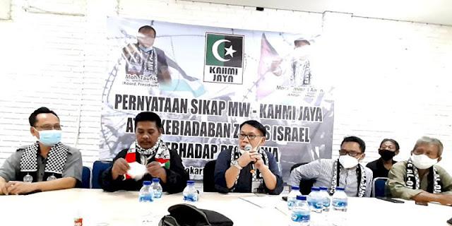 Bakal Geruduk Kedubes AS, KAHMI Jaya Imbau Khatib Shalat Jumat Serukan Warga Ikut Aksi Solidaritas Bela Palestina
