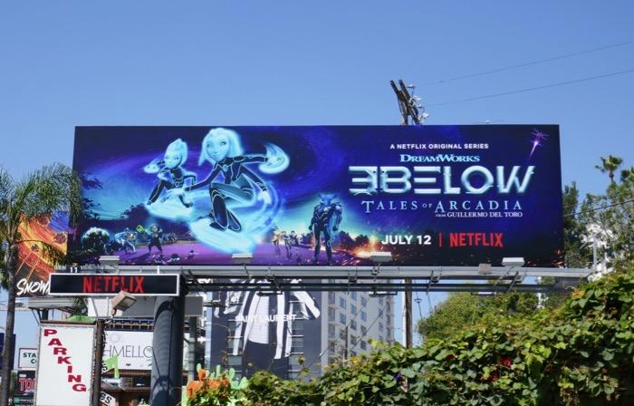 3 Below Tales of Arcadia season 2 billboard