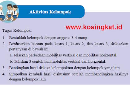 Kunci Jawaban IPS Kelas 8 Halaman 85 Aktivitas Kelompok