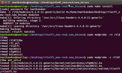 cara mengatasi masalah sinyal wifi Realtek RTL8723BE di Linux, ubuntu dan lainnya
