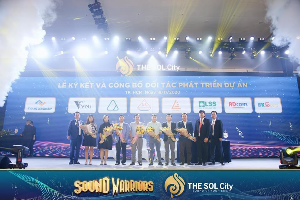 Ký kết và công bố đối tác phát triển dự án THE SOL City