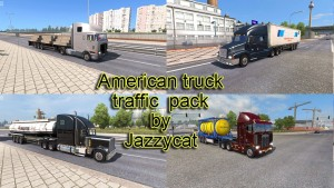 Jazzycat – American Truck Traffic Pack 1.7