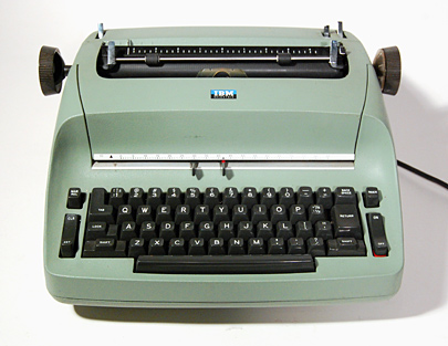 Green IBM Selectric