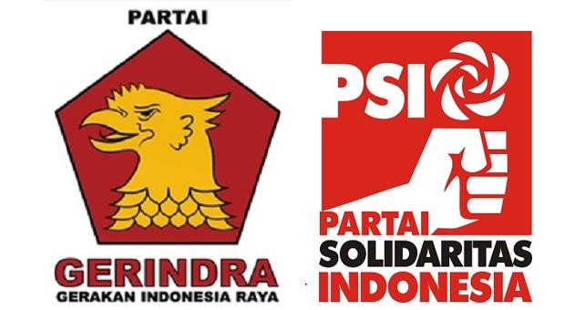 Gerindra dengan PSI Saling Serang