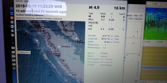 Pengamat: Perlu Penelitian Potensi Ancaman Baru Gempa Sumbar