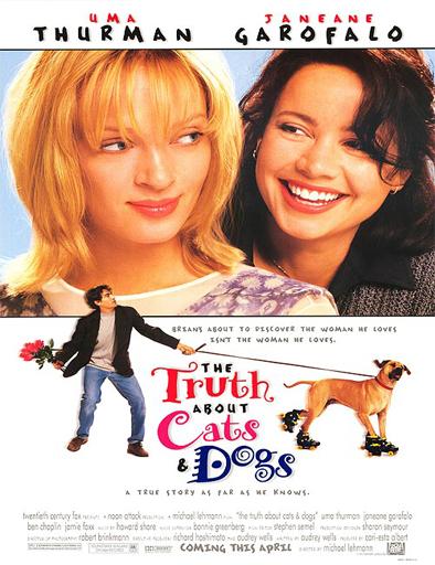 Ver La verdad sobre perros y gatos (1996) Online