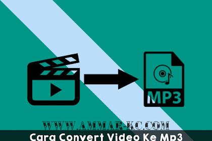 Cara Convert Video Ke Mp3 Di Android Dengan Mudah | Offline