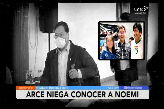 Luis Arce admite que se tomó la foto pero niega conocer a Noemí, la presunta pareja de Evo Morales