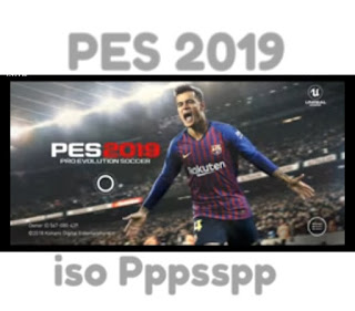 PES 2019 iso Ppsspp Soccer for Android
