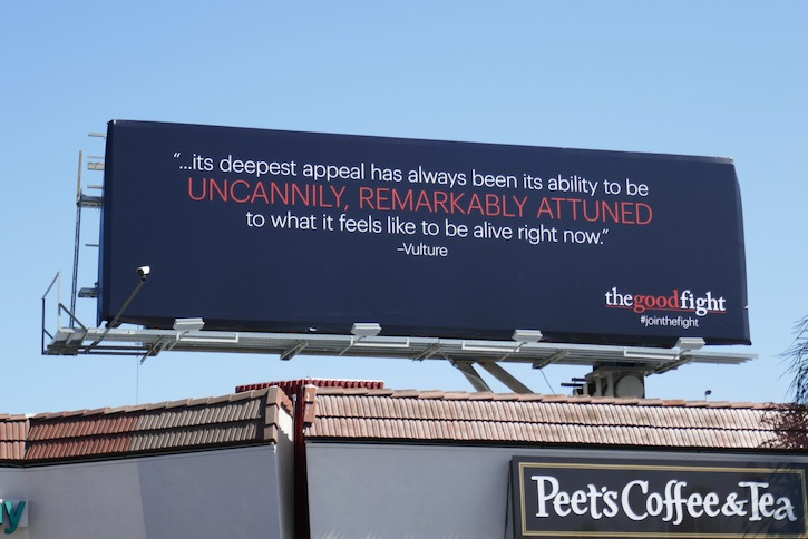 Good Fight season 4 Emmy FYC billboard