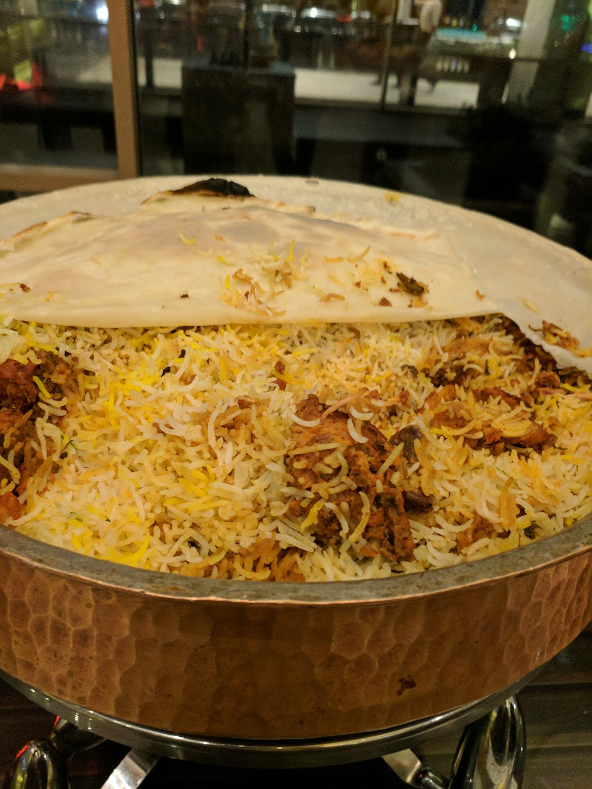 colour coated sheets in hyderabad : Purdah biryani because of the thin atta sheet that covers it as it cooks gently coaxing all the flavours to stay