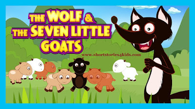 The Wolf and The Goat Short Story with picture and pdf