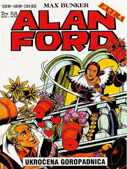 Ukrocena goropadnica - Alan Ford