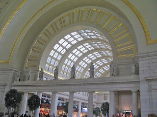 atrium, Union Station, Washington, DC