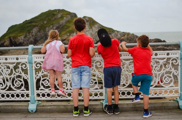 South Wales with Kids, exploring Wales, The Mumbles