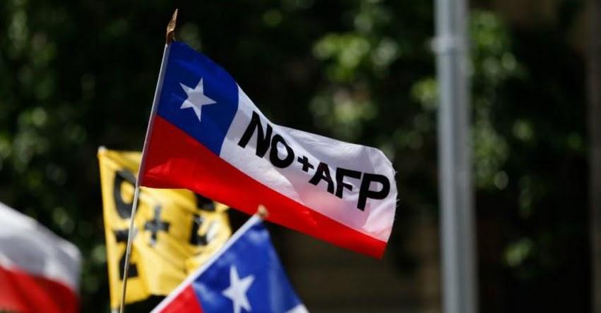 AFP: Congreso de Chile aprueba revisar el retiro anticipado de los fondos de pensiones