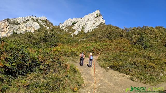 Desvío hacia el Pico Formoso, Aller