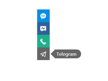 Chia sẻ tiện ích liên hệ cho blogspot cố định bên trái