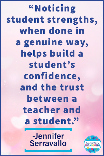 Yes!  Building off of students' strengths is so important!