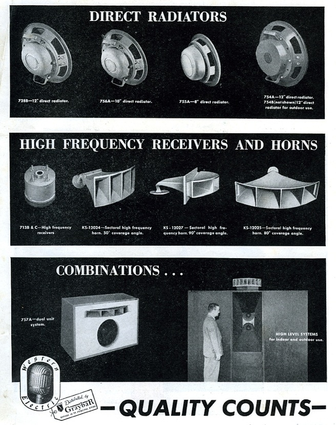 Western Electric - Quality Counts Advert