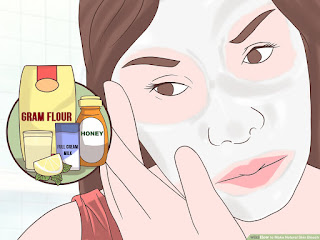 Natural recipes for face whitening