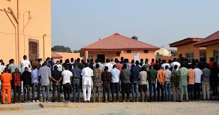 EFCC Arrests 89 'Yahoo-Boys' In Ibadan Night Club