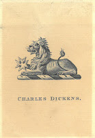 Charles Dickens's bookplate