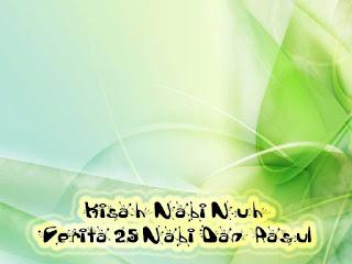 Kisah Nabi Nuh Cerita 25 Nabi Dan Rasul