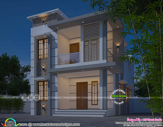 Small double storied 4 bedroom home 1578 sq-ft