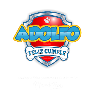 Logo de Paw Patrol: Adolfo