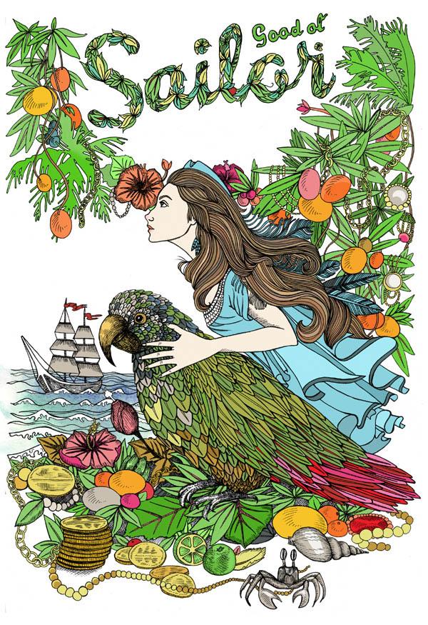 Lindalovisa Fernqvist illustration